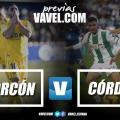 Previa AD Alcorcón - Córdoba CF: el margen de error se estrecha