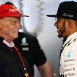 """Lauda: """"Lewis ha distrutto la stanza a Baku, mente sul rapporto con Rosberg"""", Mercedes smentisce"""