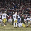 Conrad Ukopina Helps Stanford Cardinal Squeak Past Notre Dame Fighting Irish 38-36