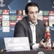 """Unai Emery : """"Los jugadores siguen ilusionados y confiados"""""""