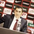 Valverde: ''A mi me dejan satisfecho todos los partidos que ganamos''