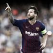 Messi anota três, Dembélé marca golaço e Barcelona goleia PSV em estreia na Champions League