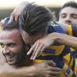 Serie B, doppio Pazzini di rigore: Verona batte Frosinone 2-0
