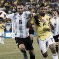 Argentina vs Colombia: el inicio del sueño