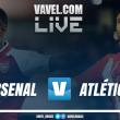 Jogo Arsenal x Atlético de Madrid AO VIVO na Europa League (0-0)