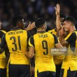 Nottingham Forest 0-4 Arsenal: Perez scores first goals for Arsenal