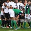 Germany 2-0 Northern Ireland: Draxler and Khedira goals get better of resolute Irish