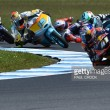 Epic battles, pile-ups, red flags in Moto3