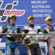 Moto2: Phillip Island podium finishers