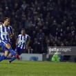 Brighton & Hove Albion 2-0 Leeds: Seagulls soar to the top of the Championship