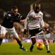 Fulham 1-1 Derby County: Vydra equaliser earns point for Rams