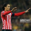 Virgil van Dijk updates fans with training video