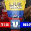 América de Cali vs. Millonarios en vivo y en directo online por la Liga Águila 2017 -2