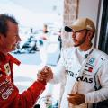 Raikkonen gatecrashes Hamilton's title party in Austin