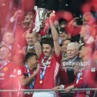 Michael Carrick shares delight at Manchester United's EFL Cup success