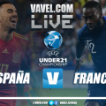 España vs Francia EN VIVO y en directo online en semifinales del Europeo sub-21 de Italia 2019
