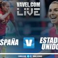 Resumen del España 1-2 Estados Unidos en el Mundial Femenino de Francia 2019
