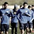 Última sesión del Málaga antes de enfrentarse al Villarreal