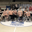 Butarque homenaje al equipo de Baloncesto en Silla de Ruedas