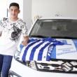 """Christian Espinoza: """"Estoy muy feliz por pertenecer al Alavés"""""""