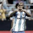 El Málaga solo ha marcado siete goles en esta Liga a juego corrido