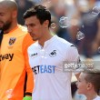 "Jack Cork ""sad"" to leave Swansea City after switch to Burnley"