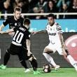 Daniel Alves marca, mas Juventus cede empate à Atalanta no fim