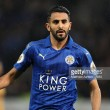 Riyad Mahrez requests to leave Leicester City after four seasons with the Foxes
