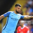 """Sergio Agüero states he is """"very happy"""" at Manchester City despite rumours on his future"""