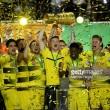 Eintracht Frankfurt 1-2 Borussia Dortmund: Sublime Aubameyang winner earns Dortmund DFB Cup over brave Eagles