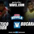 Junior de Barranquilla vs. Atlético Bucaramanga: duelo con diferentes matices