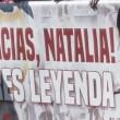 El homenaje de las peñas a Natalia Pablos