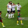 Germany 3-1 Cameroon: Werner double sets up Mexico semi-final