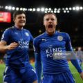 Both Jamie Vardy and Harry Maguire could prove to have vital roles at both ends of the pitch if Leicester are to stop Arsenal in their tracks | Photo: Getty/ Michael Regan