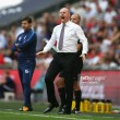 """Dyche and Wood elated following """"first class display"""" against Spurs"""