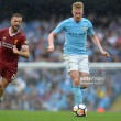 """Pep Guardiola """"so happy"""" with Kevin De Bruyne after man-of-the-match performance against Liverpool"""