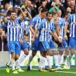 Brighton & Hove Albion 3-1 West Bromwich Albion:Großbrace hands Seagulls first Premier League win