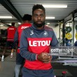 Nathan Dyer back in Swansea City contention after long-term Achilles injury