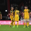 AFC Bournemouth 2-1 Brighton & Hove Albion: Seagulls fall to Defoe winner as Ibe shines