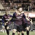 El Barça B quiere volver a celebrar goles. FOTO: Noelia Déniz