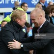"""Sean Dyche """"will continue to get on with the job"""" at Burnley despite being linked with Everton"""