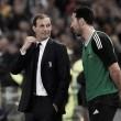 """Emocionado, Allegri fala sobre despedida de Buffon: """"Ele mereceu um adeus como esse"""""""