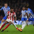 Brighton 2-2 Stoke City: Honours even in thrilling game