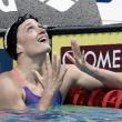 Mireia Belmonte hace historia como pez en el agua