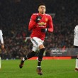 Manchester United 2-0 Derby County: Late Lingard screamer helps send bullish United through