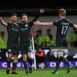 Bristol City 2 (3) - (5) 3 Manchester City: Citizens edge plucky Robins to reach Carabao Cup Final