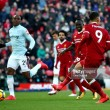 Liverpool 4-1 West Ham: Moyes' dreadful Anfield record continues as Liverpool cross 100 goal threshold in style