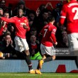 Manchester United 2-1 Chelsea: Lukaku inspires Red Devils comeback to move back to second place