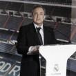 """Florentino Pérez: """"Tenemos una gran plantilla que será reforzada con fantásticos jugadores"""""""