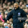 "Chris Hughton says he is""surprised and disappointed"" by Brighton's performance in defeat at Everton"
